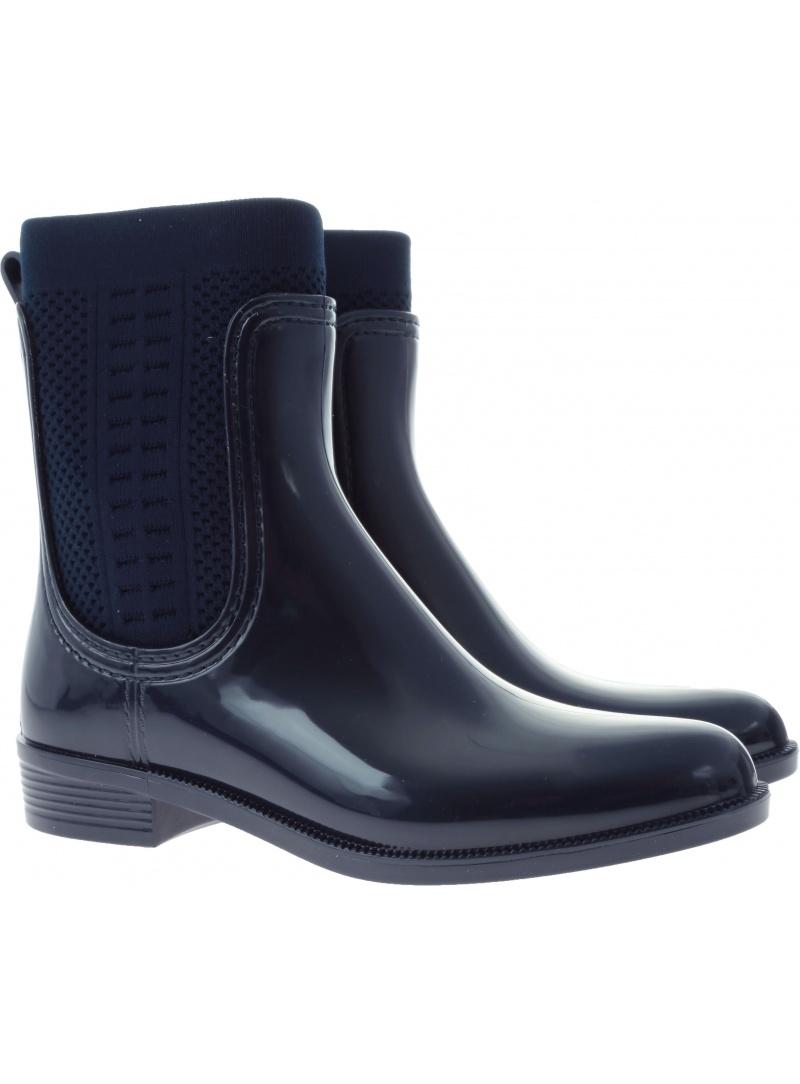 Kalosze TOMMY HILFIGER TOMMY Knit Rain Boot Fw0Fw02940 403 - Kalosze