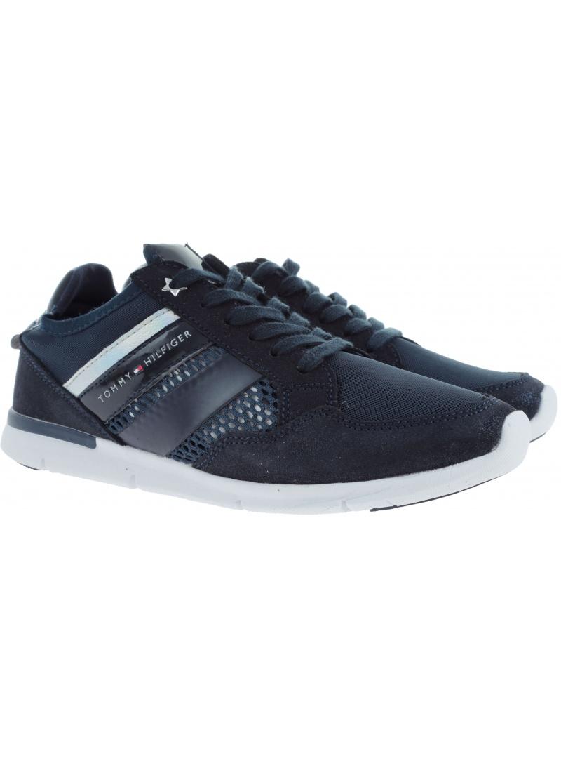 Półbuty Sportowe TOMMY HILFIGER Metallic Light Weight Sneaker FW0FW02996