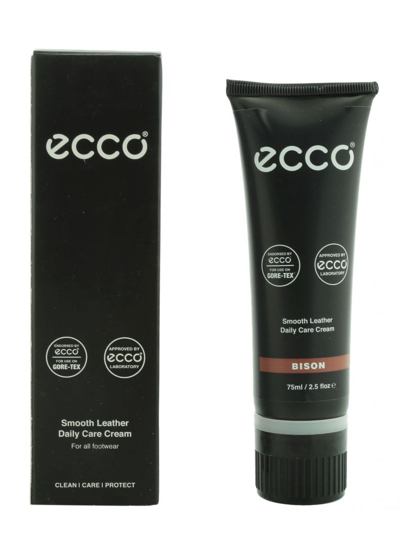 ECCO SMOOTH LEATHER CARE CREAM - PASTA PIELĘGNACYJNA ŚREDNI BRĄZ BISON -