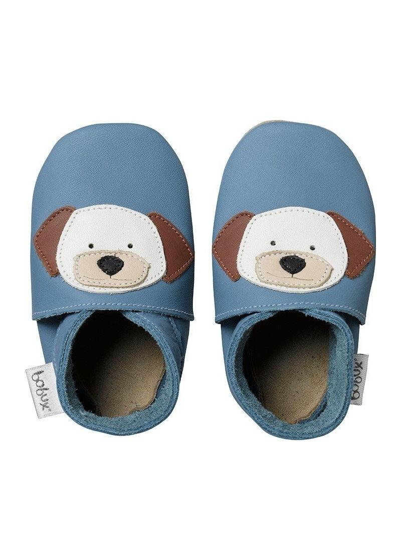 Domácí obuv BOBUX 4117 BLUE PUPPY SOFT SOLE