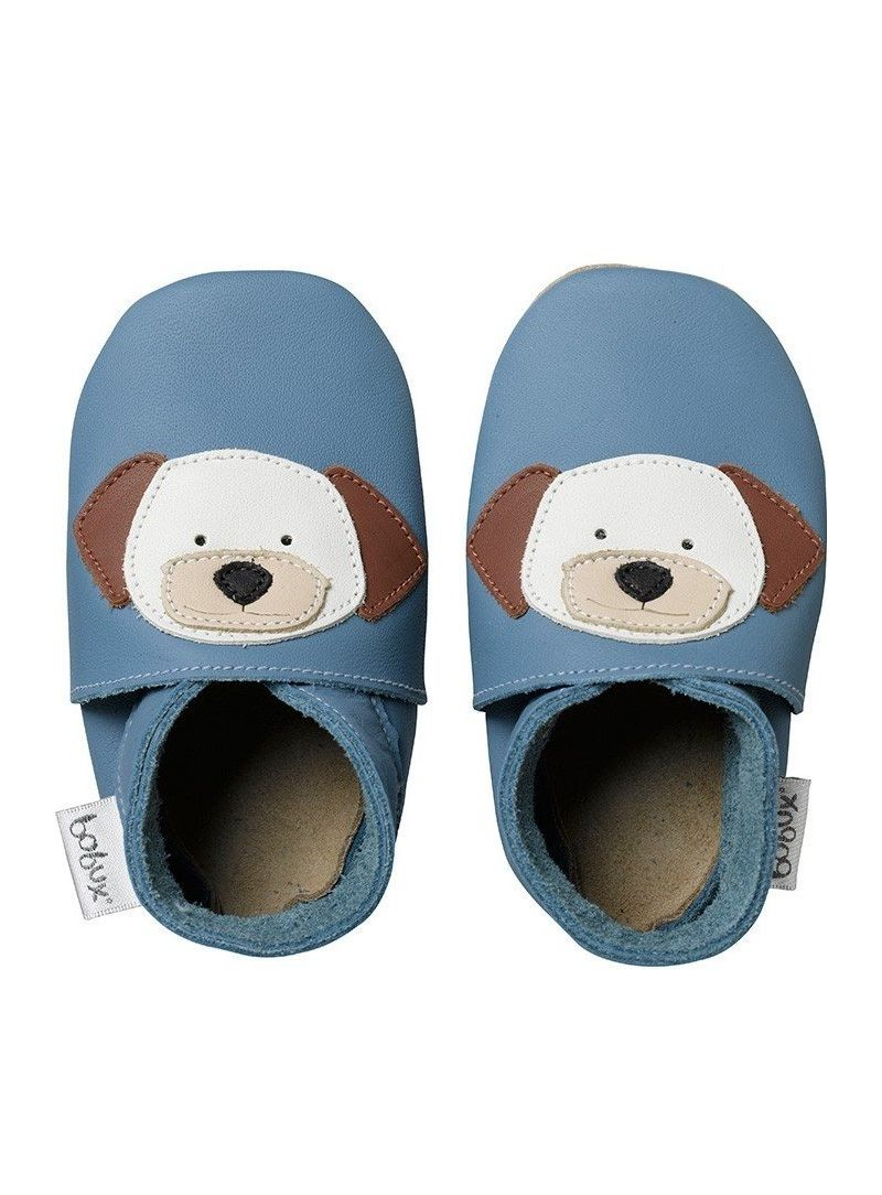 Hausschuhe BOBUX 4117 BLUE PUPPY SOFT SOLE