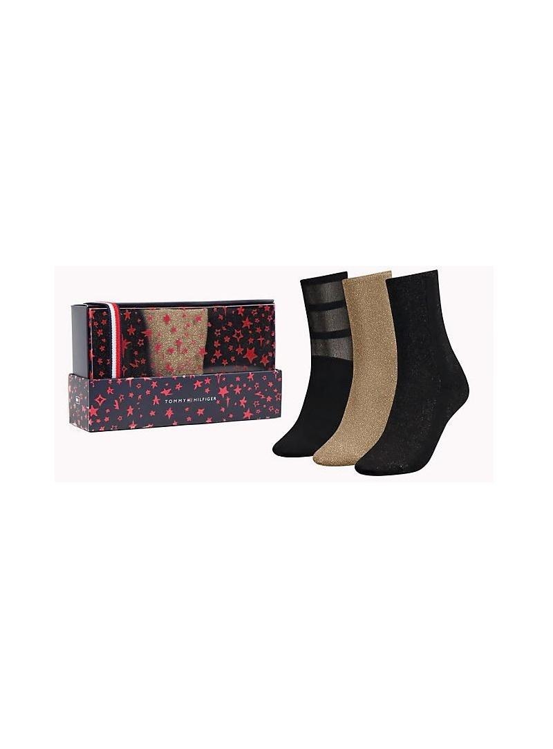 d7eef8607b Ponožky TOMMY HILFIGER 483016001 200 (3-PAK)