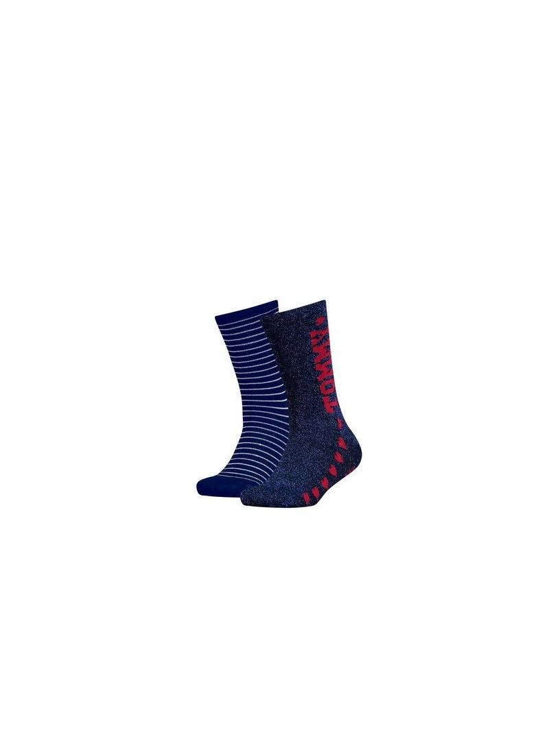 Ponožky TOMMY HILFIGER KIDS 484012001 563 (2-PAK)