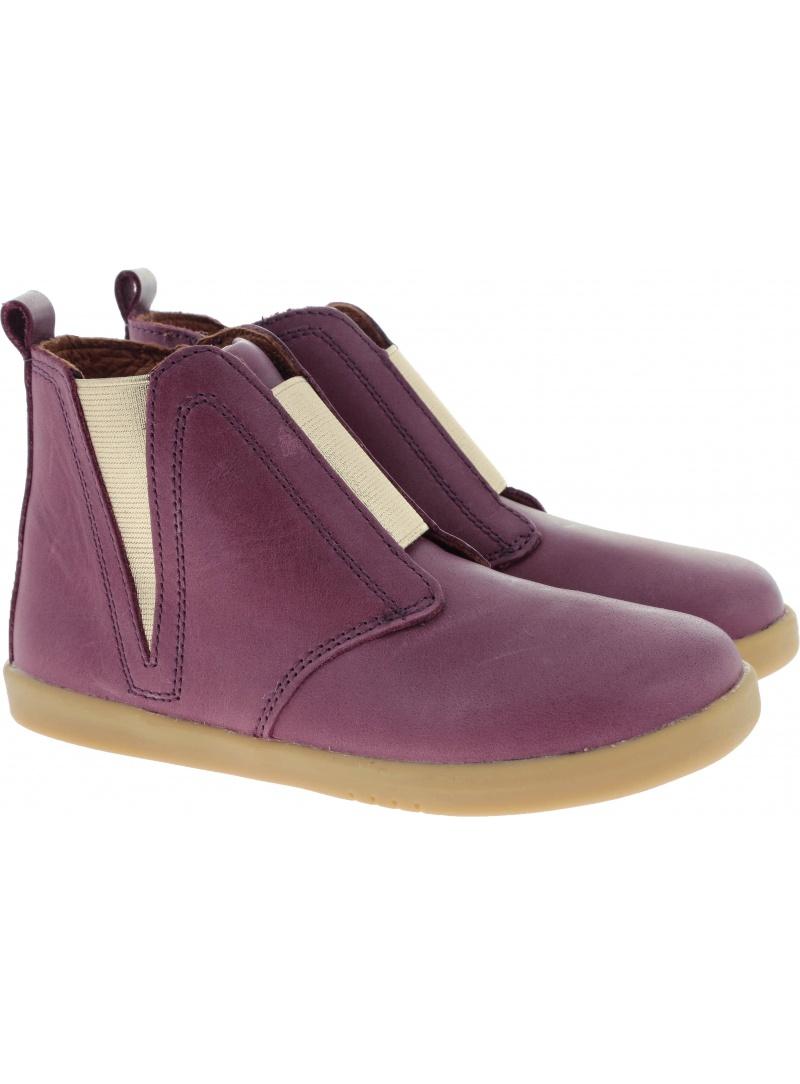 Shoes BOBUX 833204 SIGNET BOOT PLUM