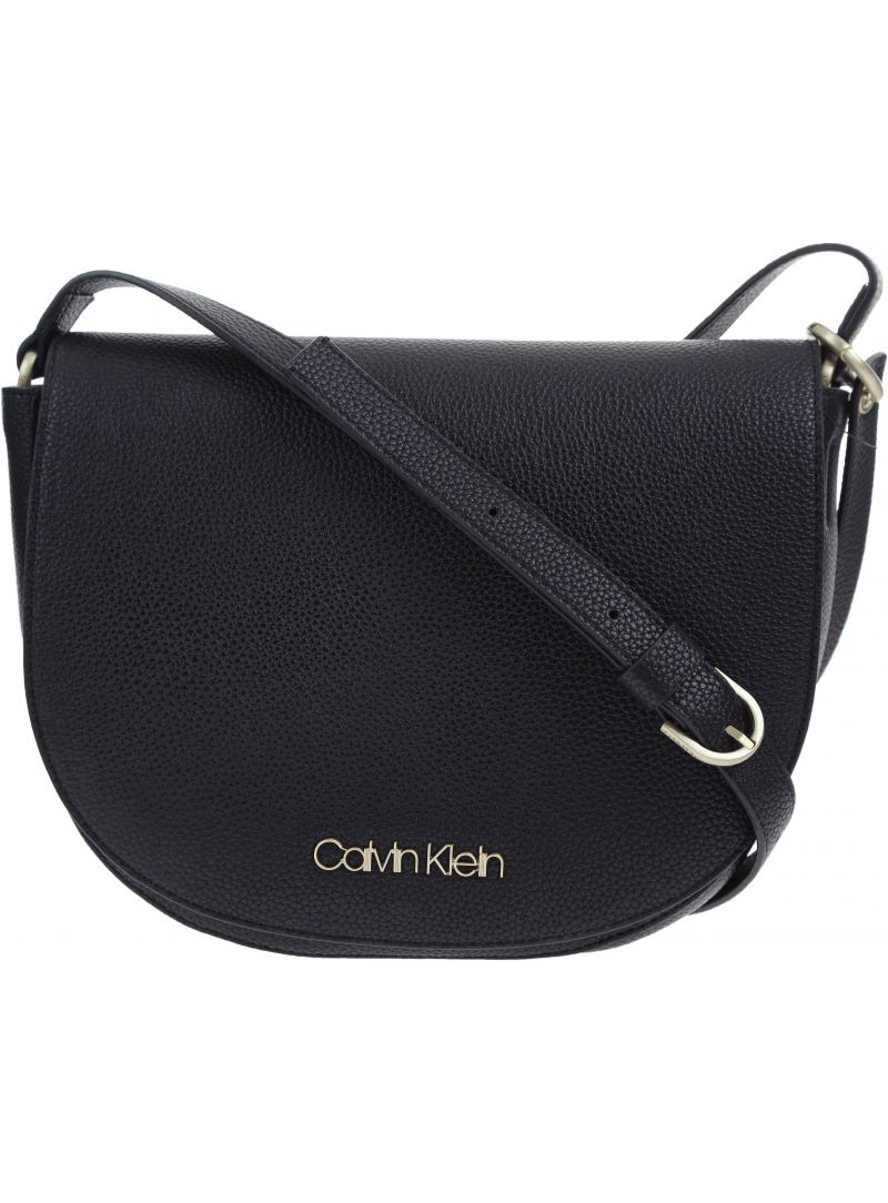 TOREBKA CALVIN KLEIN NEAT MEDIUM SADDLE - Listonoszki