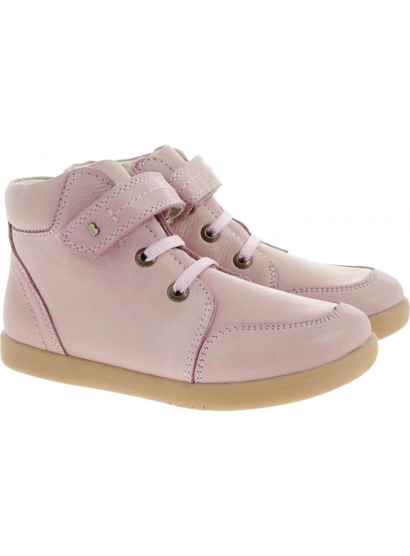 Różowe Trampki BOBUX 632604 Timber Boot Blush