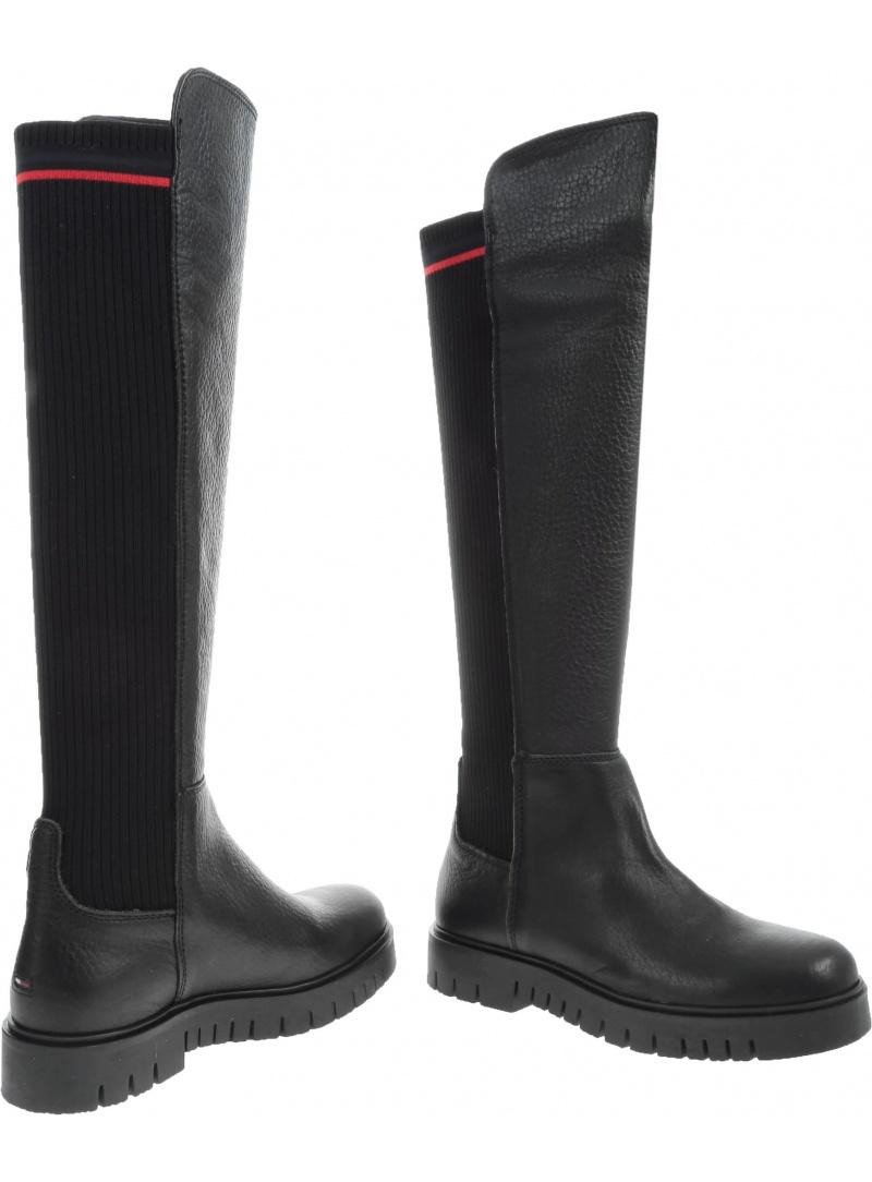 TOMMY HILFIGER Flag Sock Tommy Jeans Boot EN0EN00661 990
