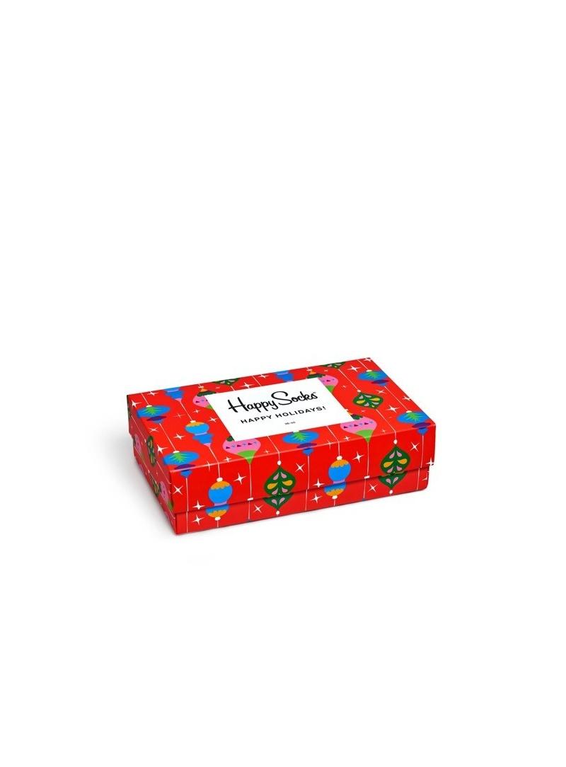 GIFT BOX SKARPET HAPPY SOCKS XMAS08-4003 (3-PAK) - Skarpety