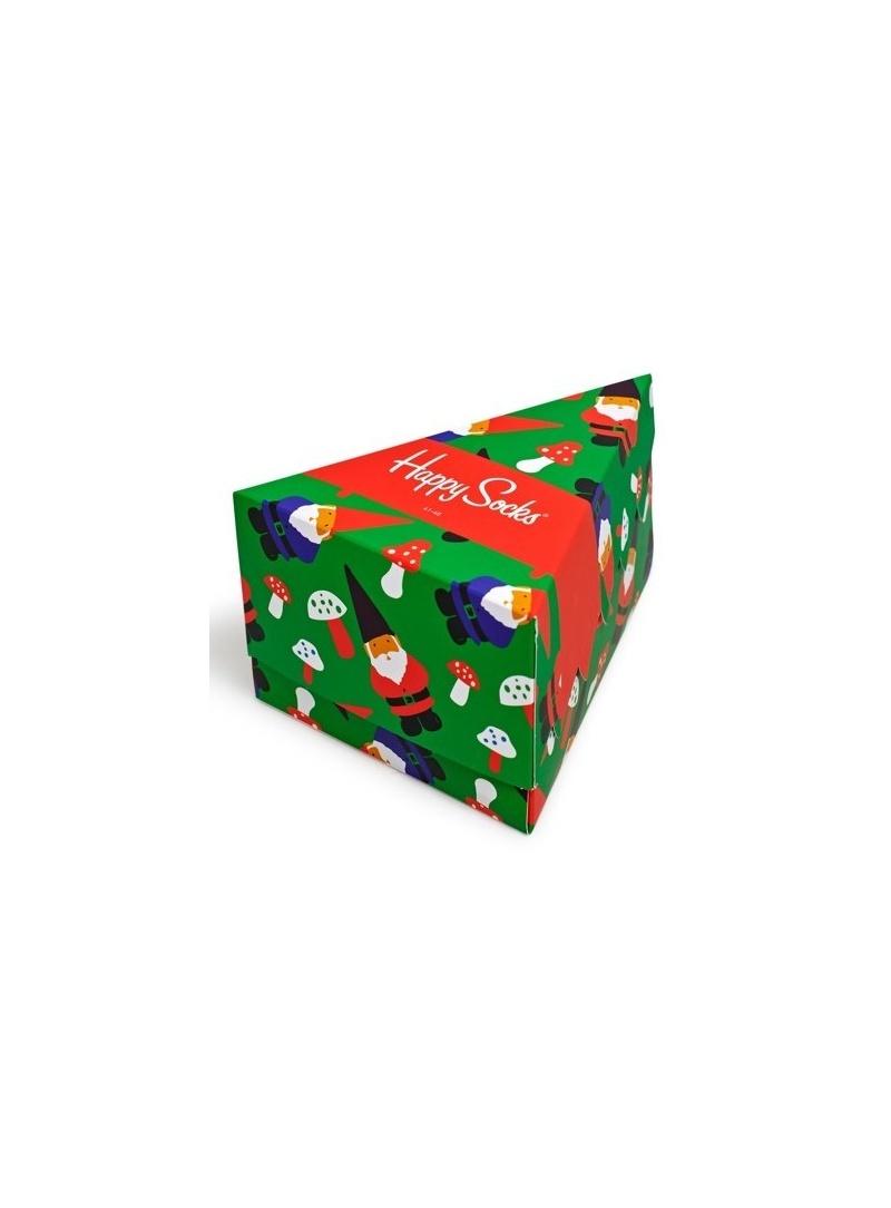 GIFT BOX SKARPET HAPPY SOCKS XMAS08-7003 (3-PAK) - Skarpety