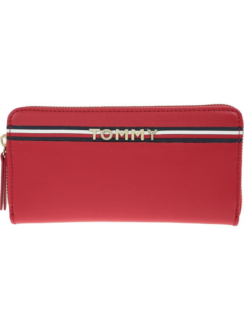 Portfel TOMMY HILFIGER Corp Leather Za Wall AW0AW05755 614 -