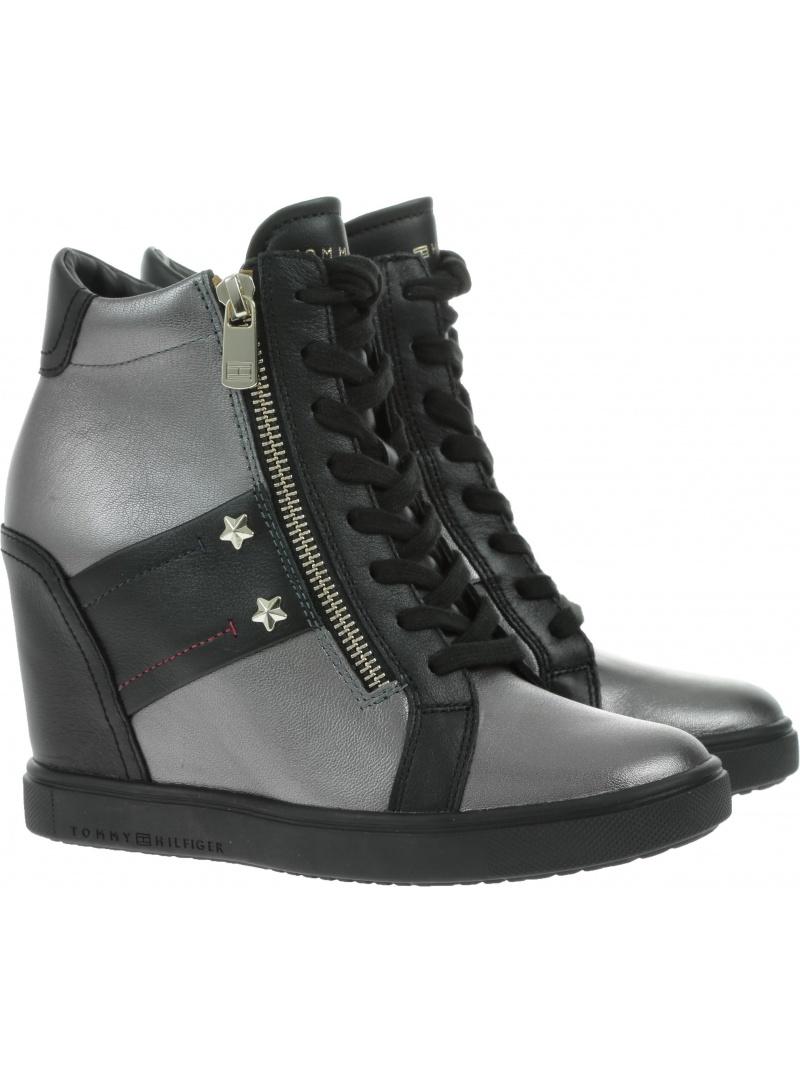 Klobouky TOMMY HILFIGER TOMMY Wedge Sneaker