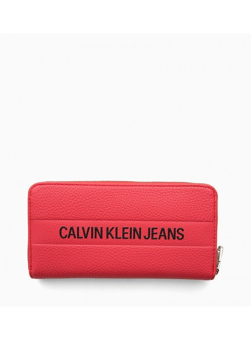 Czerwony Portfel CALVIN KLEIN Logo Banner Large K40K400840 634