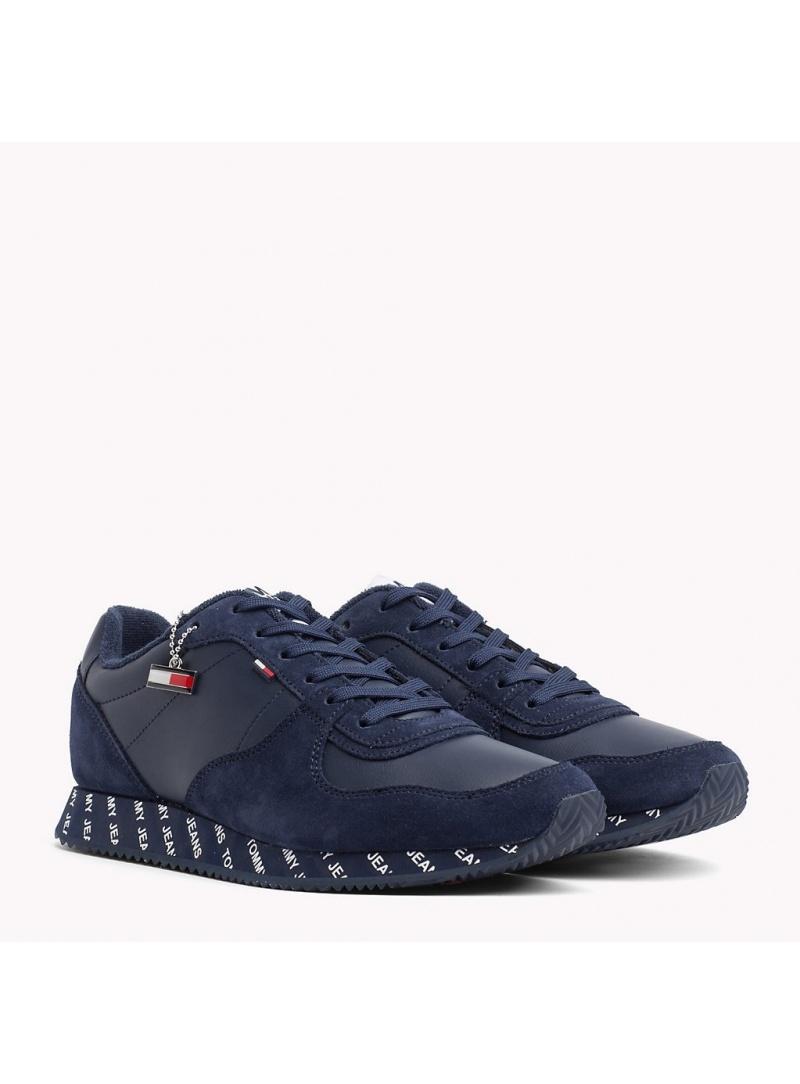 Niebieskie Półbuty TOMMY HILFIGER TOMMY JEANS City Sneaker