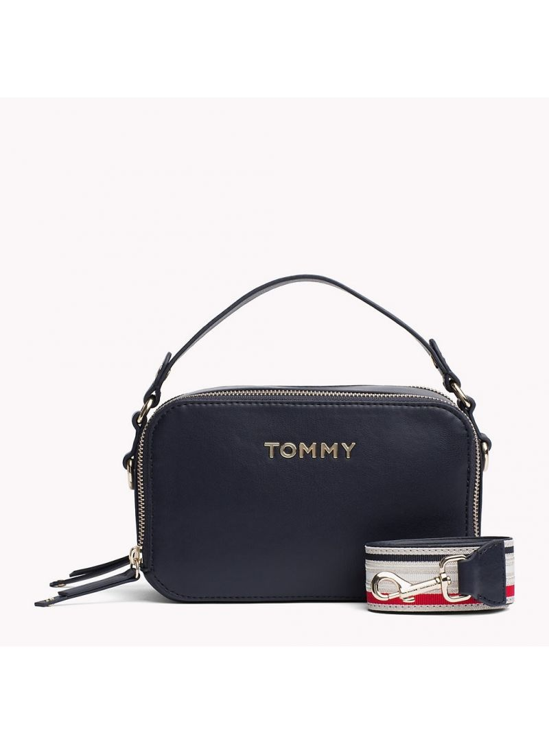 Granatowa Torebka TOMMY HILFIGER Cool TOMMY Mini Trunk