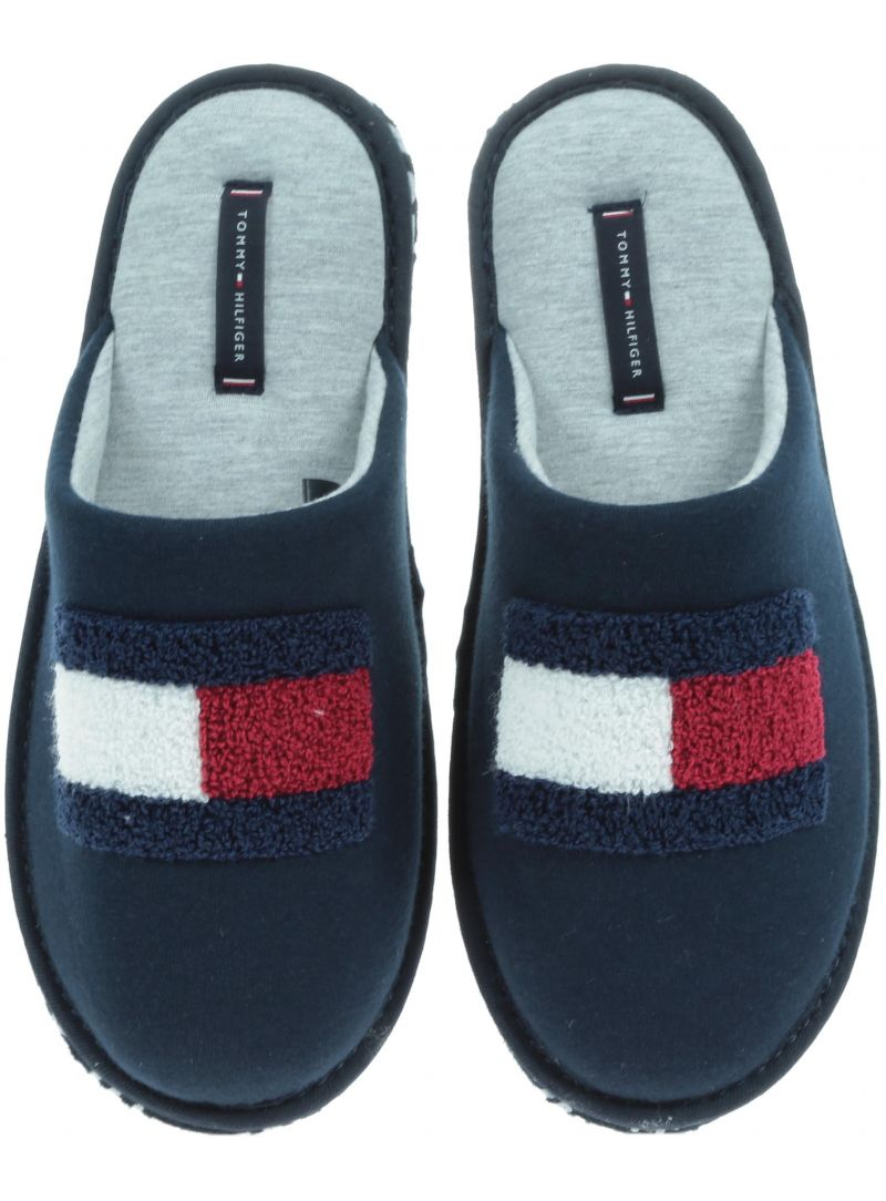 Kapcie TOMMY HILFIGER Terry Flag Homeslipper FM0FM01789 403 -