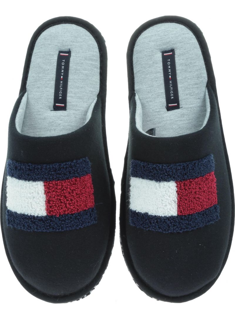 Kapcie TOMMY HILFIGER Terry Flag Homeslipper FM0FM01789 990 -