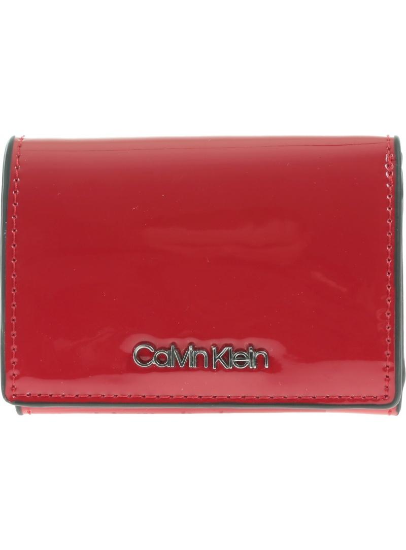 Czerwony Portfel CALVIN KLEIN Small Wallet K60K604960 640 -