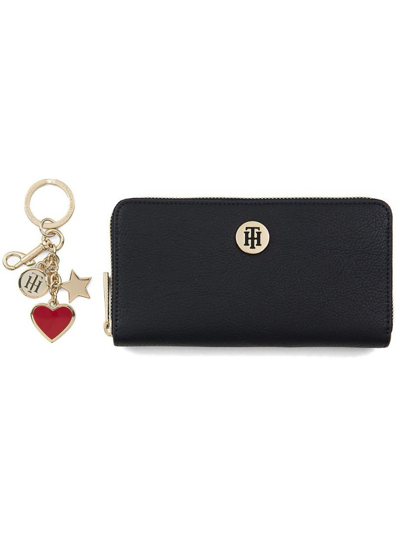 Zestaw TOMMY HILFIGER Th Core Za Wallet/K AW0AW05868 901 -