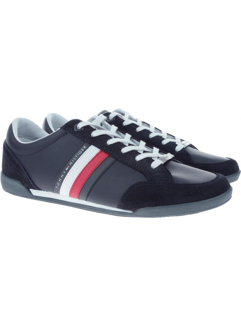 Półbuty Tommy Hilfiger CORPORATE MATERIAL M MIDNIGHT - Półbuty