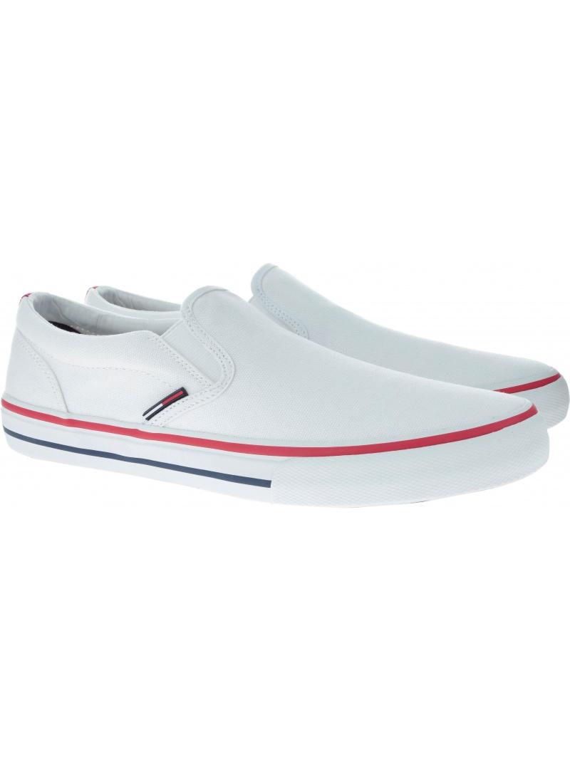 Sportovní TOMMY JEANS Textile White EM0EM00002 100