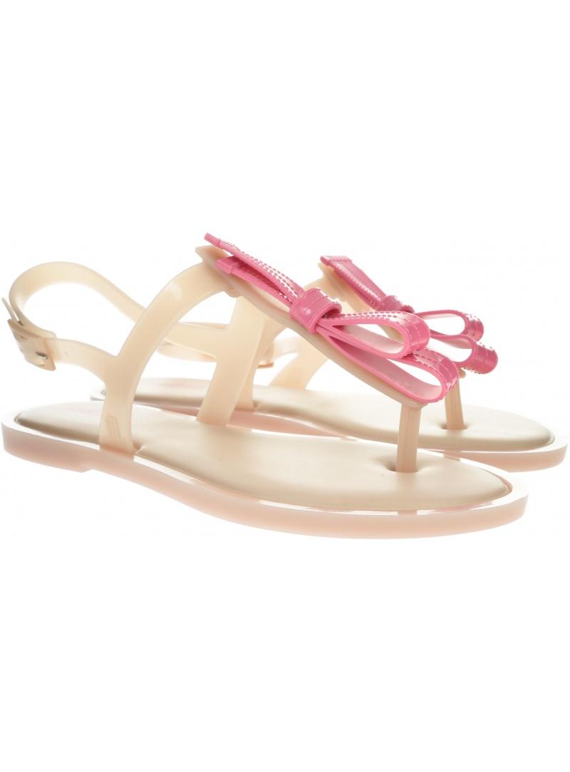 Różowe Sandały MELISSA Slim 32399 52718 - Sandały