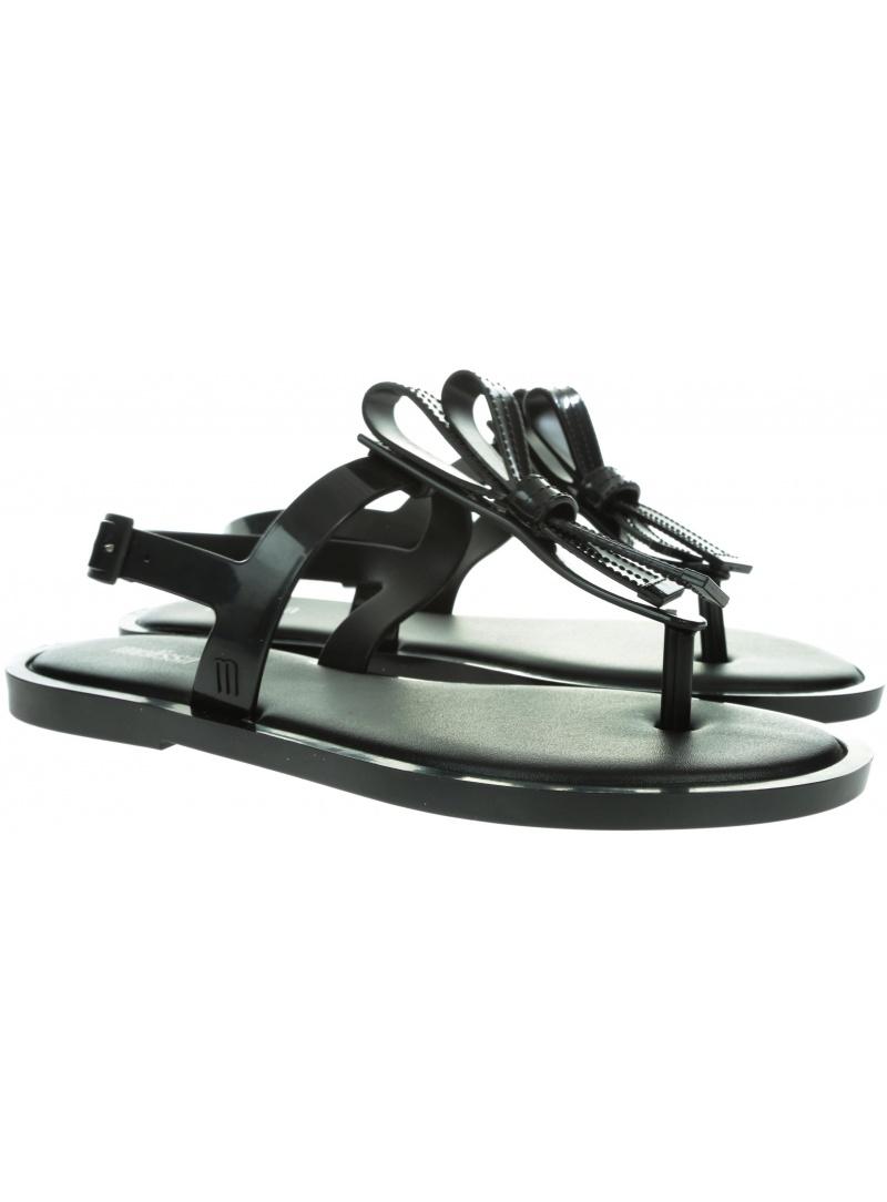 Czarne Sandały MELISSA Slim 32399 01003 - Sandały