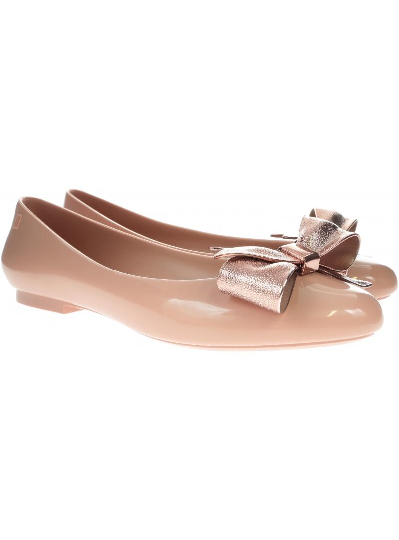 Różowe Balerinki MELISSA Doll 32504 51716 - Baleriny