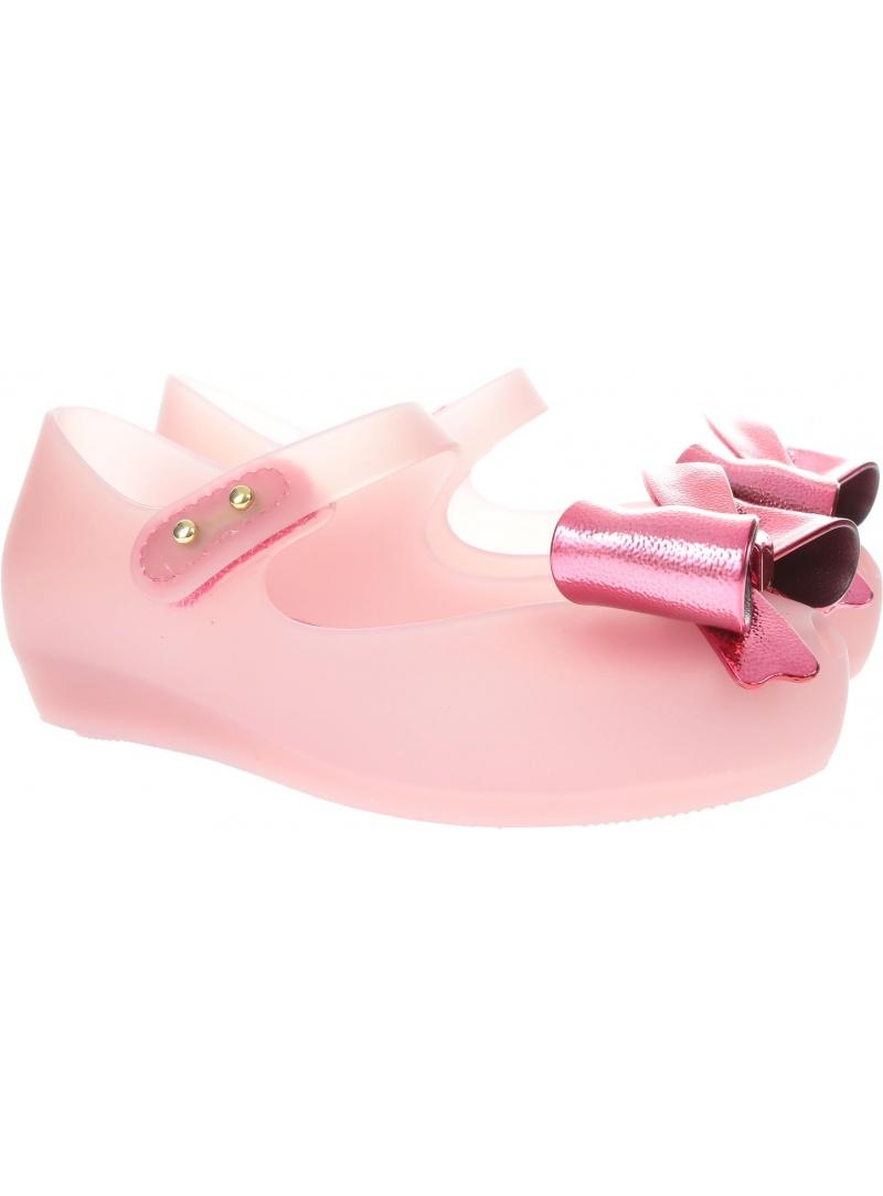 Różowe Balerinki Mini Melissa Ultragirl Celebra 32540 51338 -