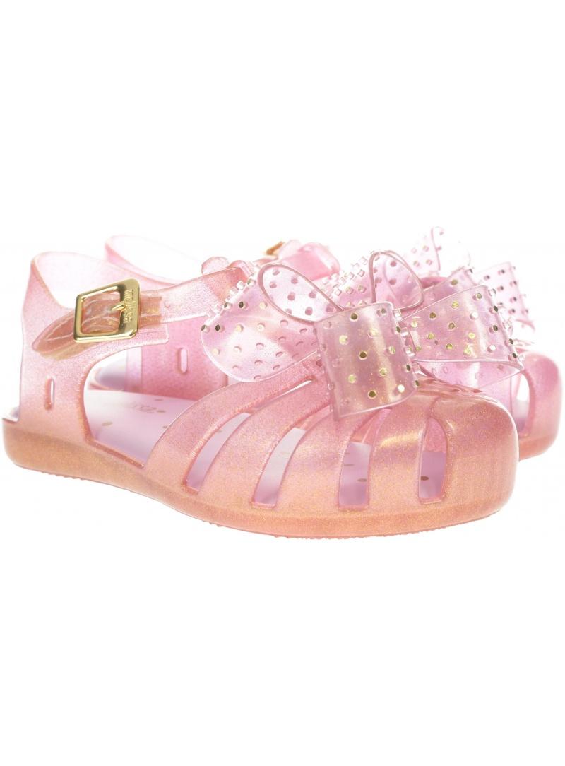 Różowe Sandałki MINI MELISSA Aranha 32443 13538 - Sandały