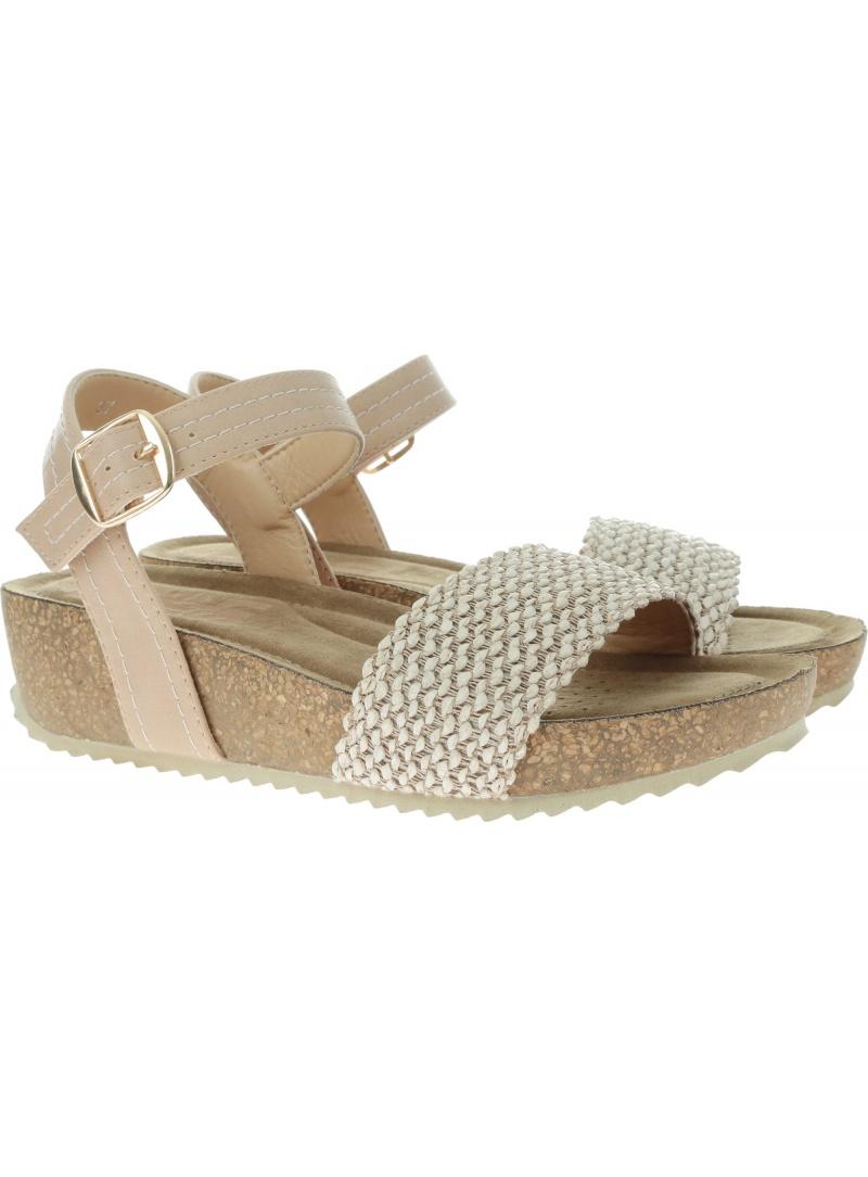 Beżowe Sandały REFRESH 69740 - Sandały