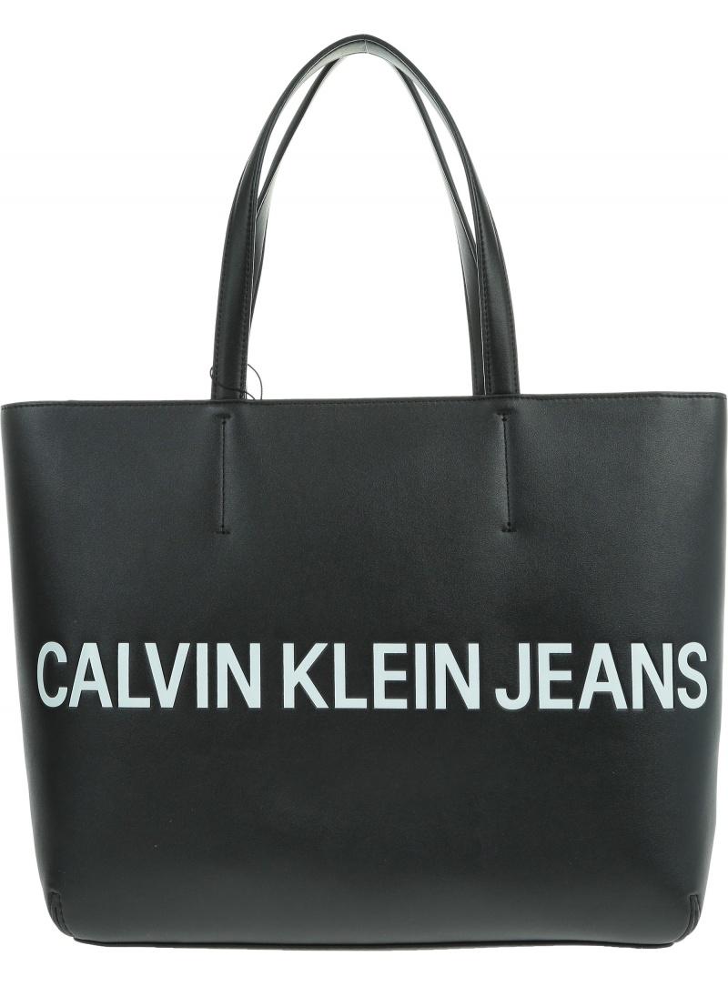 Czarna Torba CALVIN KLEIN JEANS Sculpted Logo K60K605246 001 -