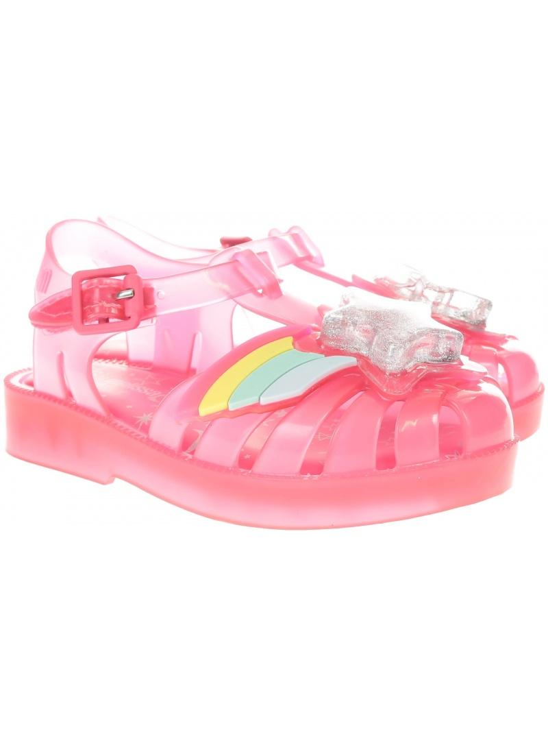 Różowe Sandałki MINI MELISSA Possesion 32442 06376 - Sandały