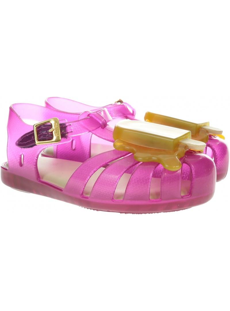 Różowe Sandałki MINI MELISSA Aranha 31704 52492 - Sandały