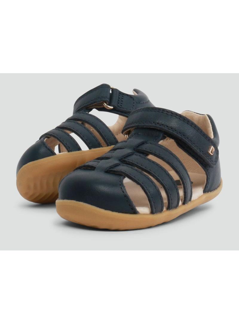 Granatowe Sandały BOBUX 723421 Jump Sandal Navy - Sandały