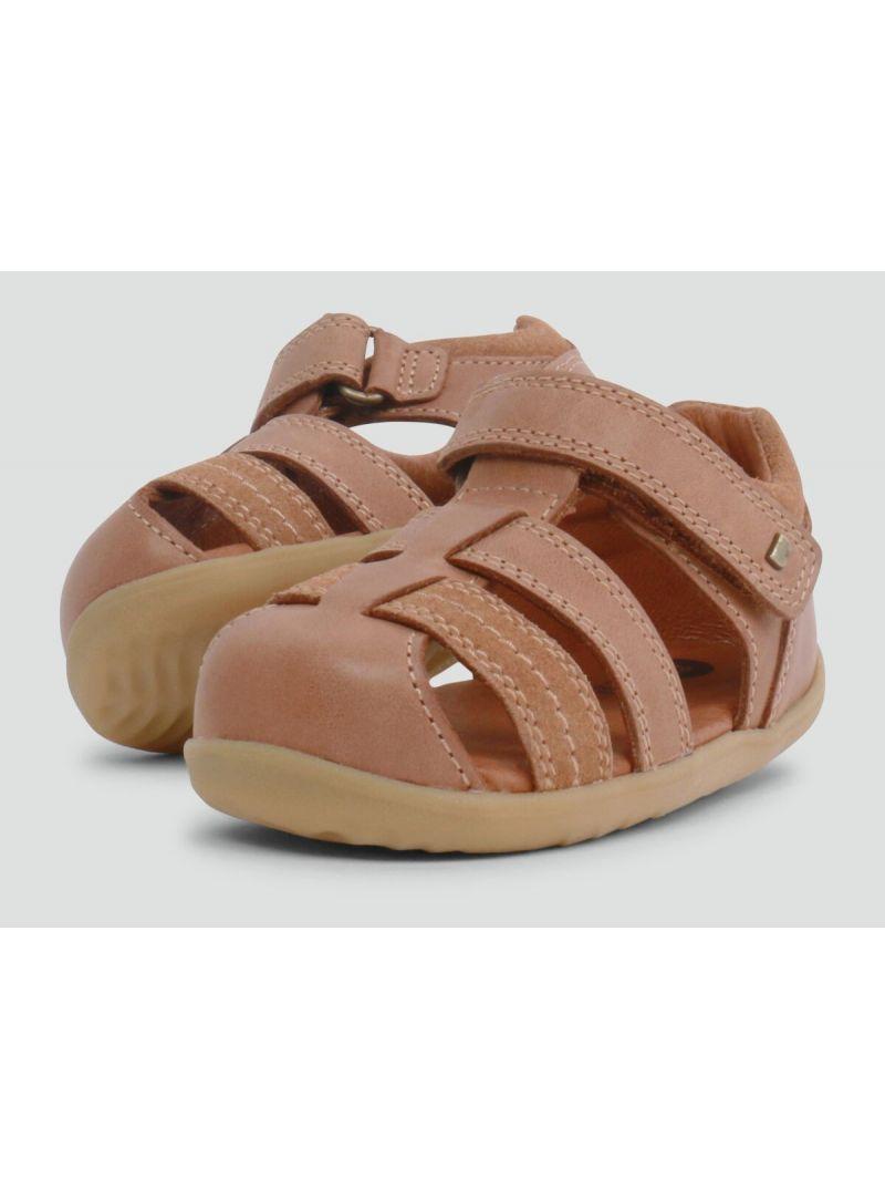 Brązowe Sandały BOBUX 729204 Roam Caramel - Sandały