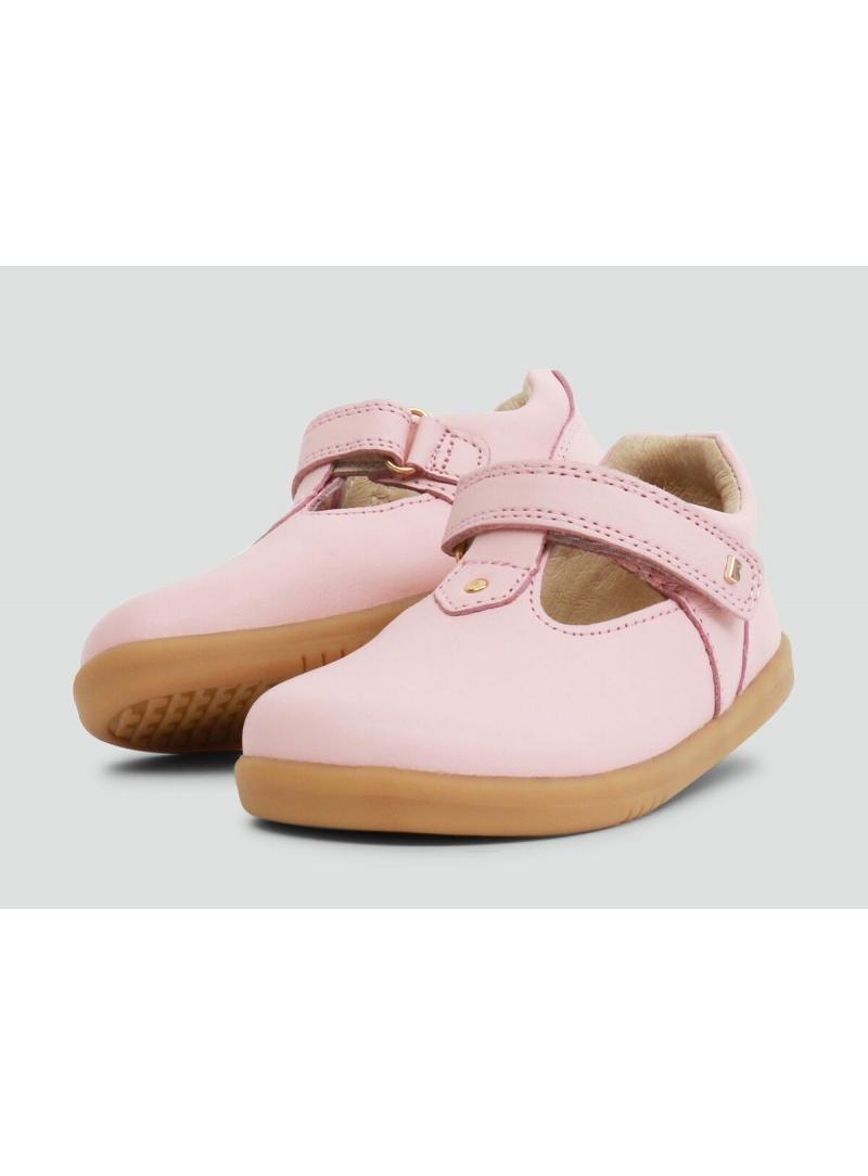 Różowe Balerinki BOBUX 633006 Louise Seashell Pink - Baleriny