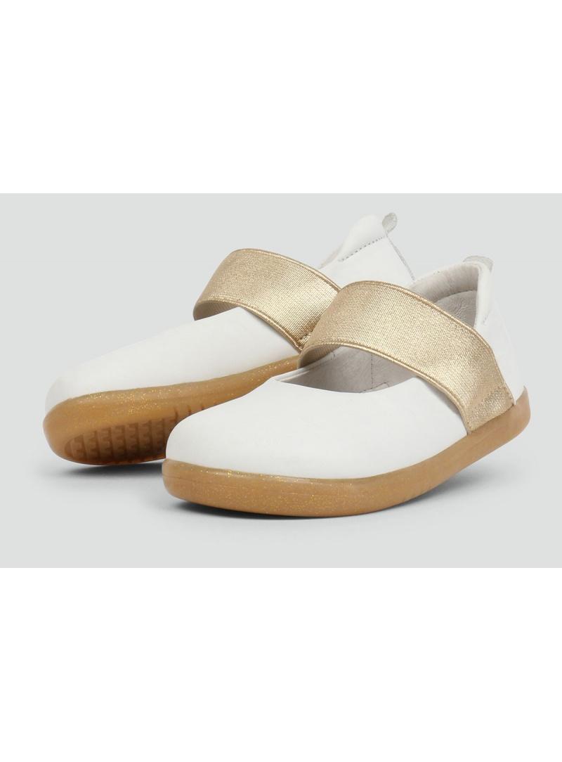 Białe Balerinki BOBUX 633202 Demi Ballet Shoe White - Baleriny
