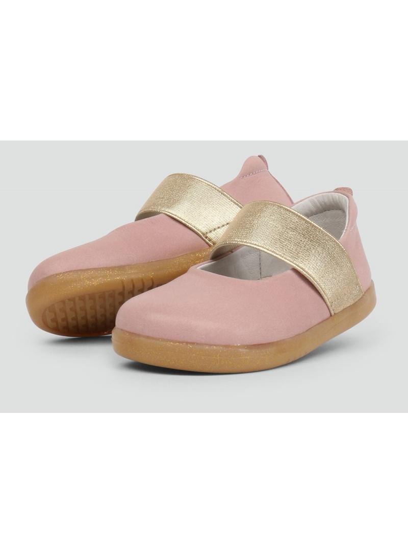 Różowe Balerinki BOBUX 633203 Demi Ballet Shoe Blush - Baleriny