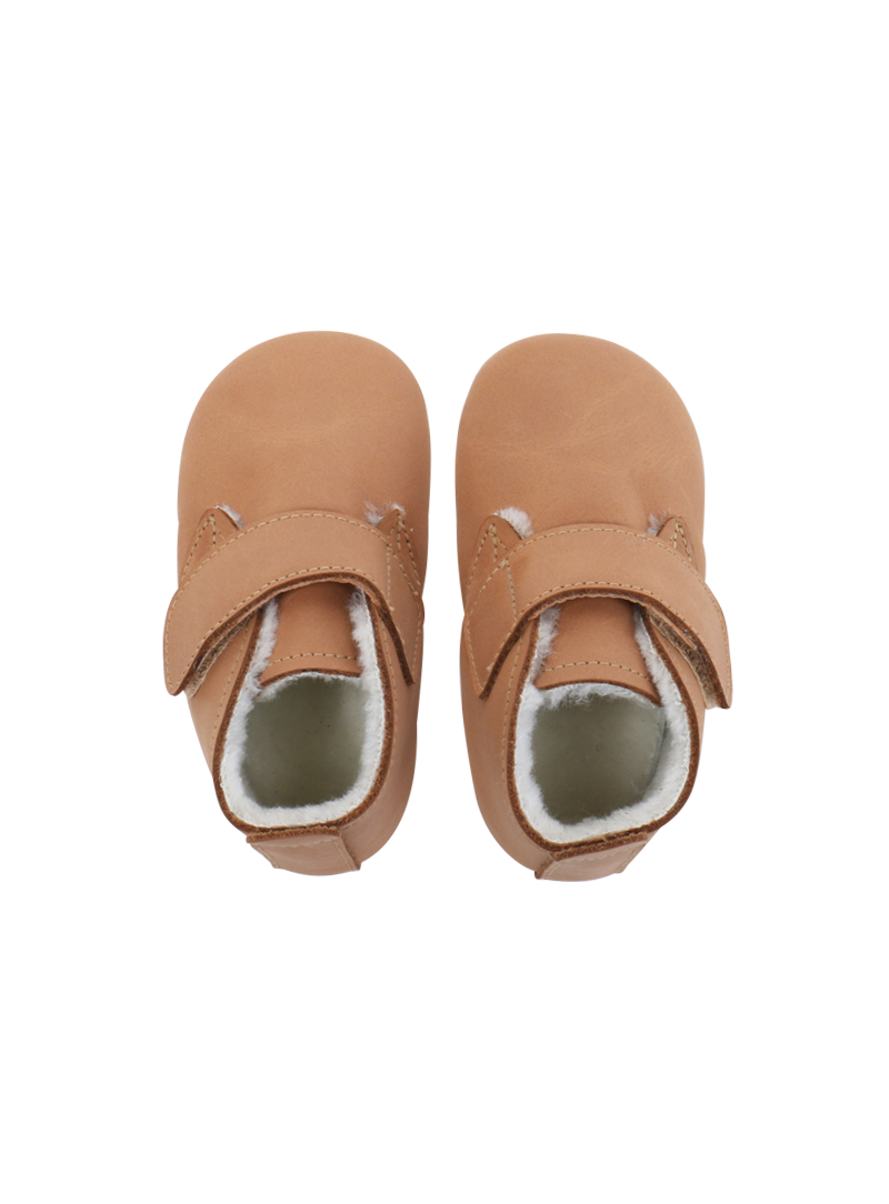 Für Babys BOBUX 4448 CARAMEL MINI DESERT BOOT ARCTIC SOFT SOLE