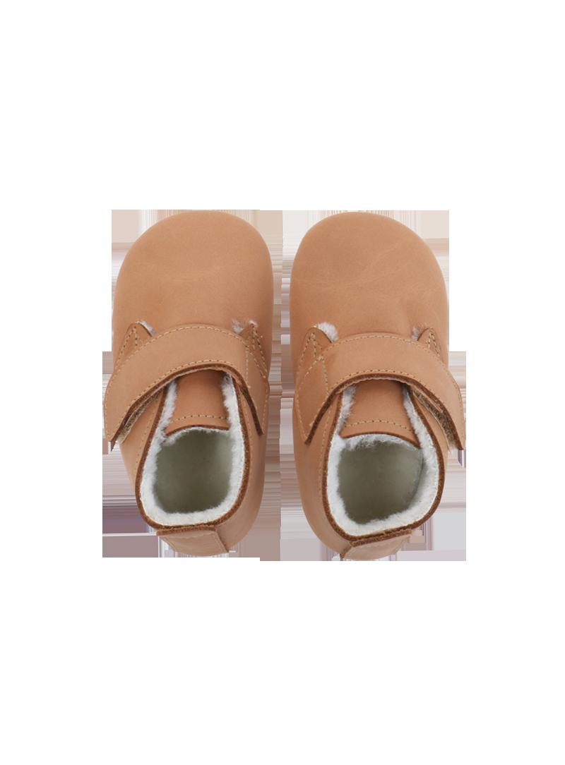 Pro miminka BOBUX 4448 CARAMEL MINI DESERT BOOT ARCTIC SOFT SOLE