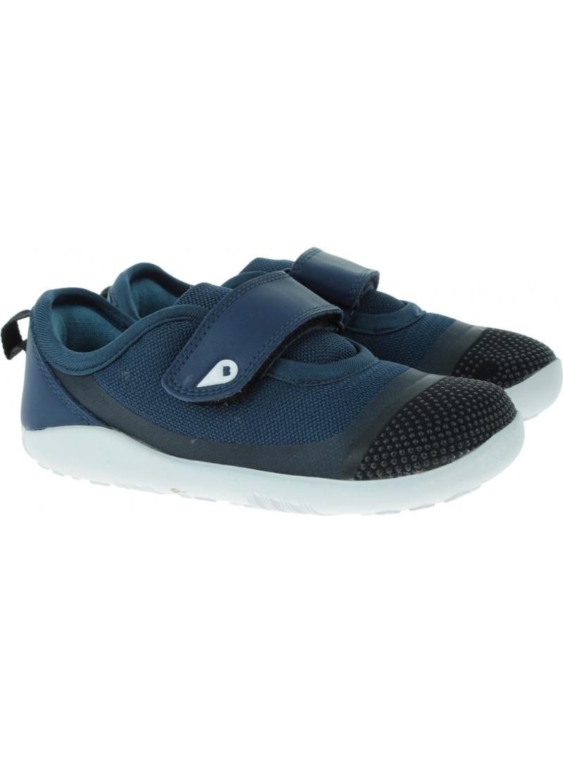 Granatowe półbuty BOBUX 634003 Lo Dimension Shoe - Półbuty