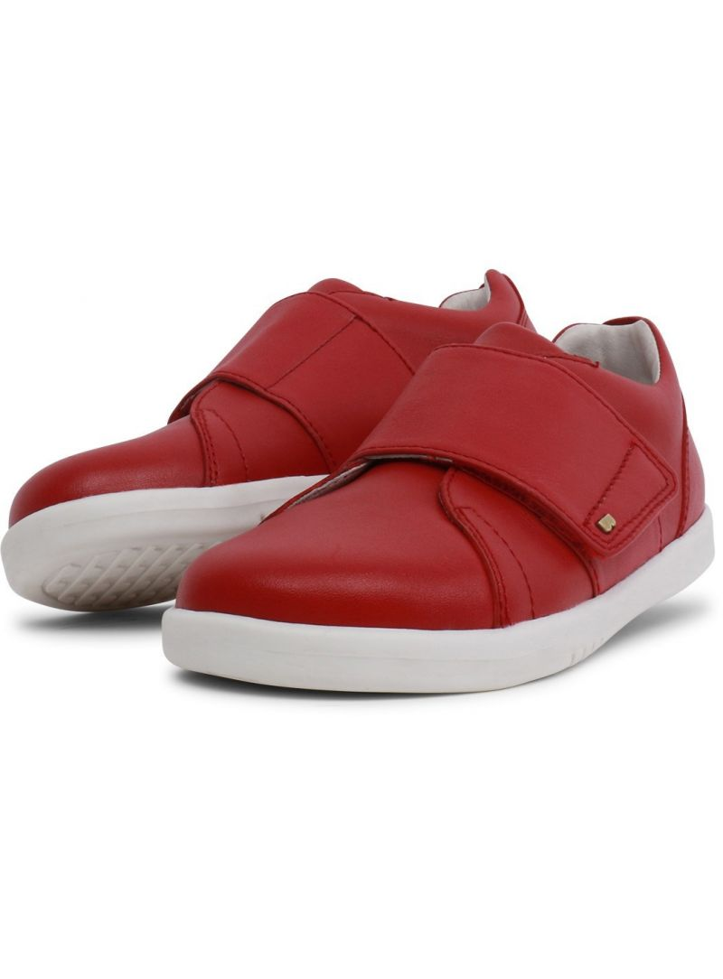 czerwone półbuty BOBUX 835402 BOSTON TRAINER RIO RED