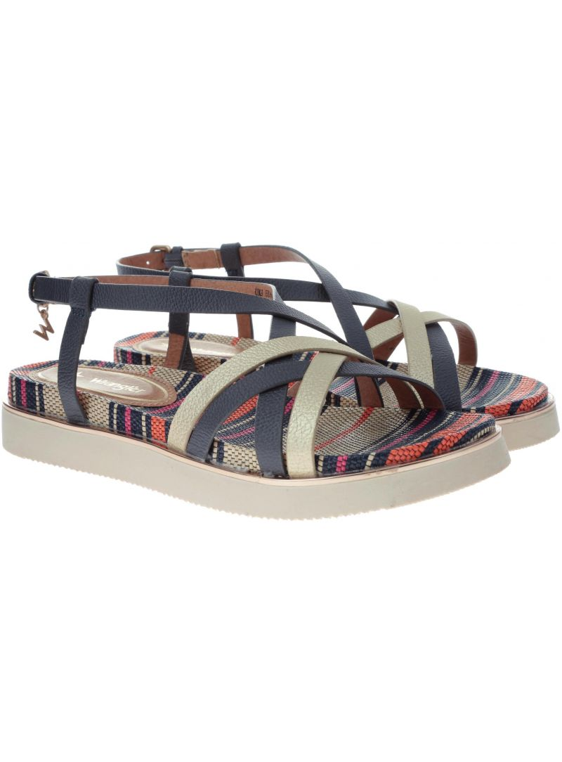 Sandały WRANGLER Tropical Karen WL91601A - Sandały