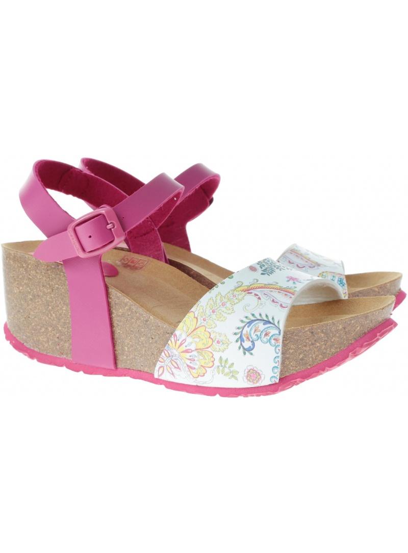 Sandałki na koturnie Desigual GALACTIC 19SSHP11 3062 - Sandały