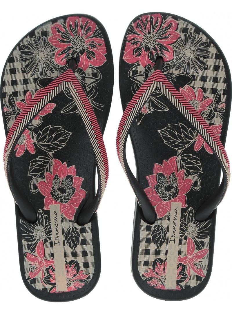 Japonki IPANEMA 82518 22267 Anat Lovely IX Fe Black/Pink -