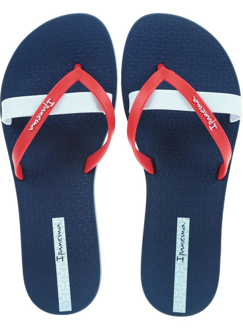 Japonki IPANEMA 81805 23504 Kirei Fem Blue/Red/White - Japonki