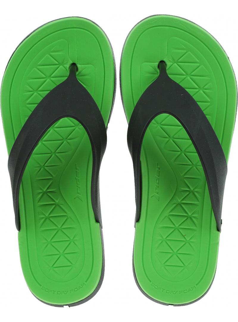 Japonki RIDER 82495 21675 Infinity II Thong AD Black/Green -