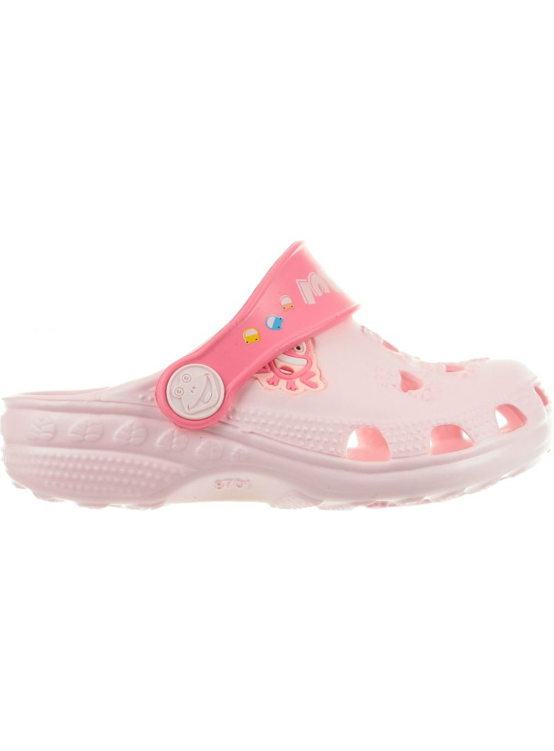 Różowe Klapki COQUI Little Frog 8701100 Candy Pink/New Rouge -