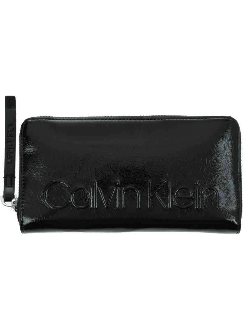 Portfel CALVIN KLEIN Edged Large Ziparounds K60K605088 001 -