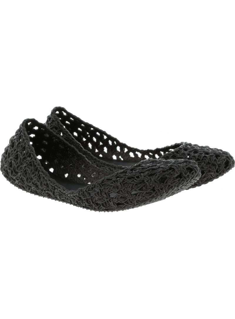 Czarne Balerinki MELISSA Campana Crochet 32246 19936 - Baleriny